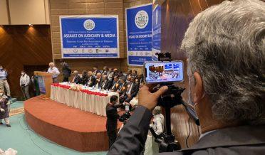 Assault on judiciary &Mediaia